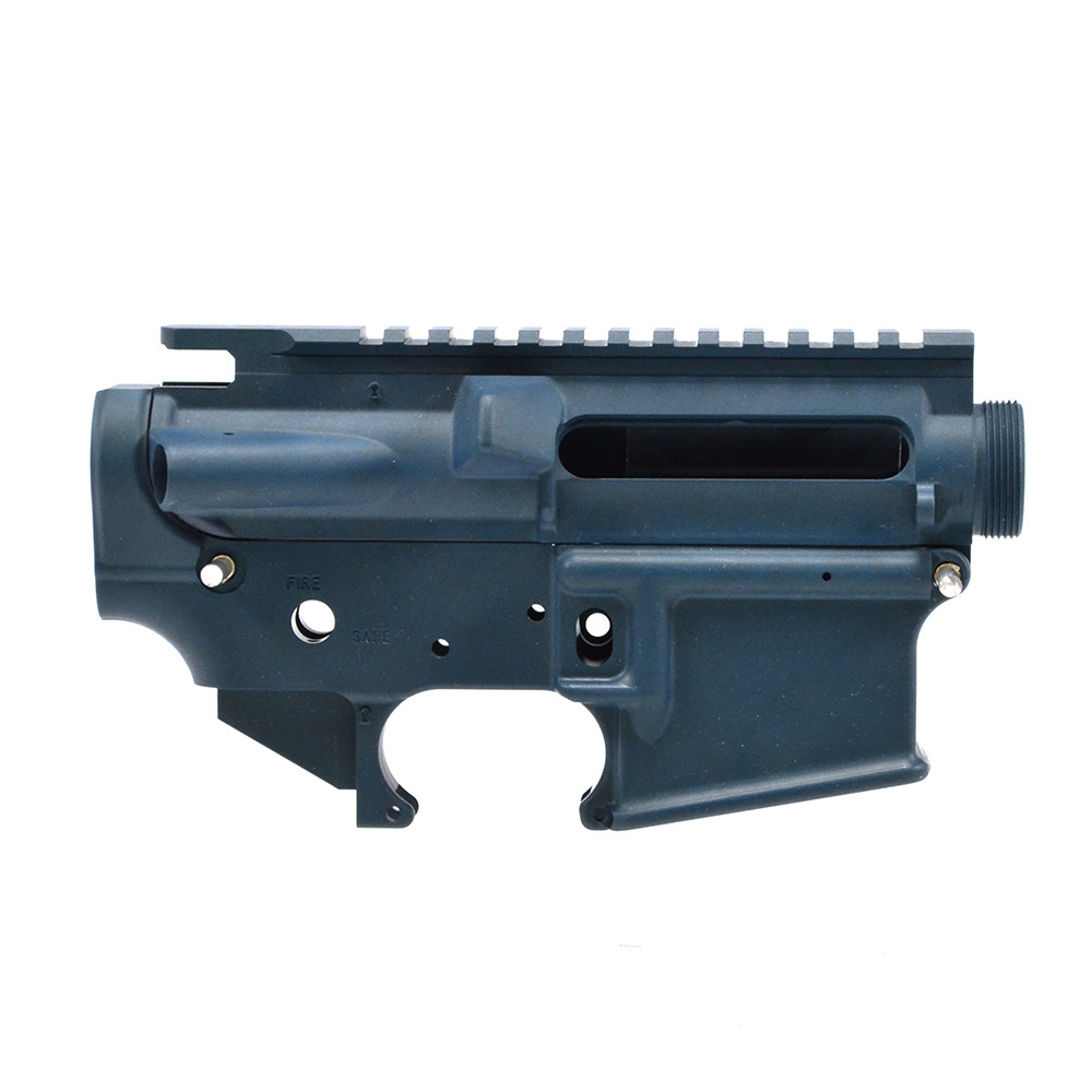 Bushmaster Blue AR-15 Mil-Spec Stripped Lower/ Upper Receiver - 223 Rem/  5 56 NATO