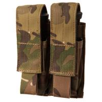Blackhawk Double Pistol Mag Pouch - USA Molle - MultiCam