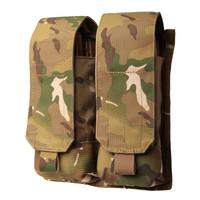 Blackhawk AK-47 Double Mag Pouch (Holds 4) - USA Molle - MultiCam