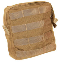 Blackhawk Large Utility Pouch with Zipper - Molle - Coyote Tan