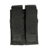 Blackhawk Belt Mounted Double Mag Pouch - Black