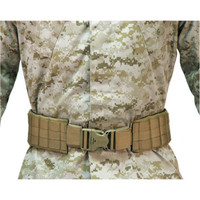 Blackhawk Padded Patrol Belt Pad with IVS - Coyote Tan