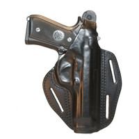 Blackhawk Leather 3-Slot Pancake Holster - Black