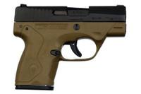 """Beretta Nano 9mm 3.07"""" FDE"""