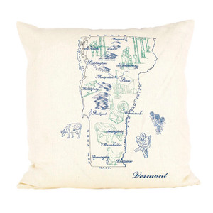 Vermont Ox Bow Pillow