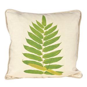 Buckler Fern Ox Bow Pillow