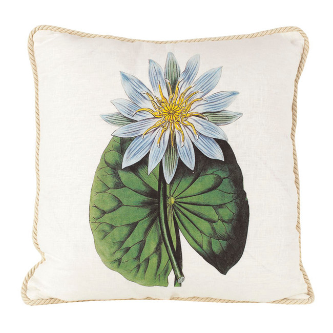Water Lily Ox Bow Pillow