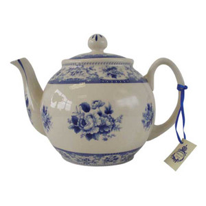 Powell Craft - Blue Rose China Teapot
