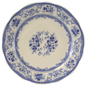Powell Craft - Blue Rose Plate 30cm