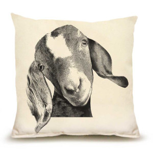 Eric and Christopher Pillow - Goat