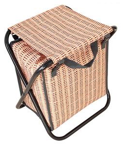 Vacances - Cooler Faux Panier Stool Bag