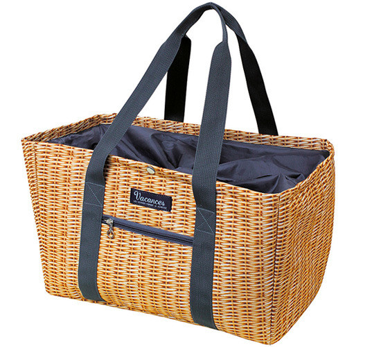Vacances picnic whicker tote and cooler
