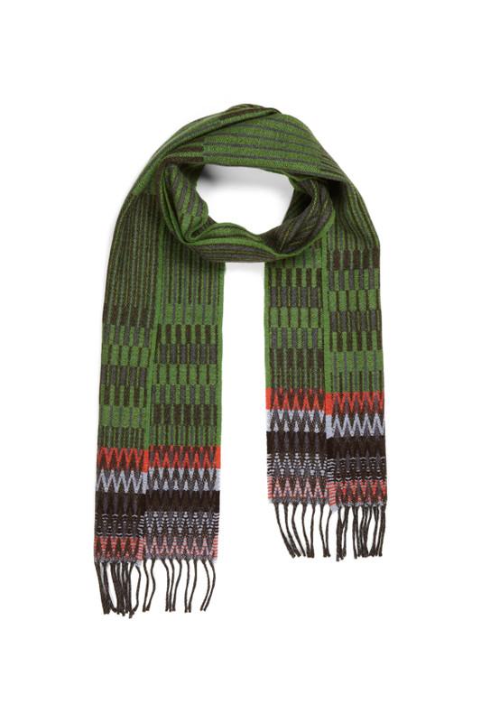 Wallace Sewell scarf - Furrow Green