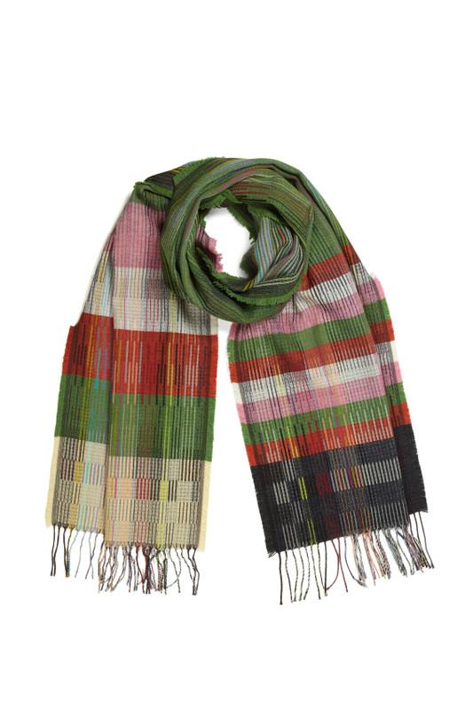 Wallace Sewell - Pinstripe Wrap  Otti ,Green