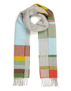 Wallace Sewell lambswool scarf - Glebe grey