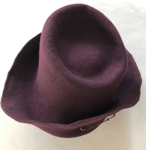 Gil Fox Felt Hat - Dusty pnk