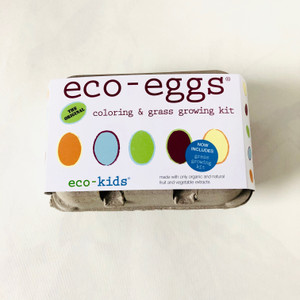 Echo-Eggs coloring and grass growing kit.  Eco-Kids
