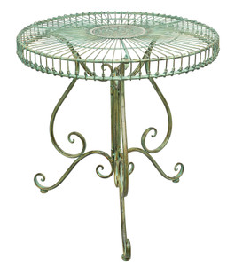 Ornate Victorian garden table