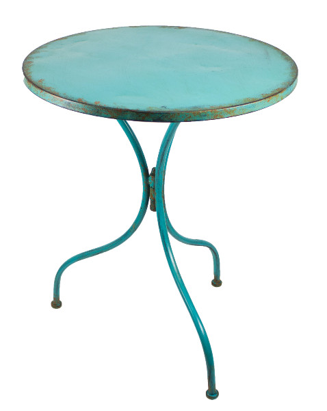 Patio table - Turquoise