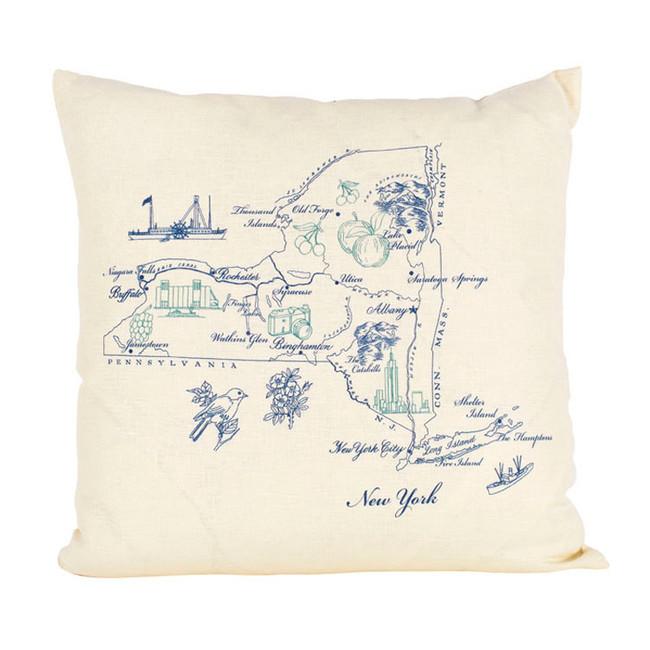 New York Ox Bow Pillow