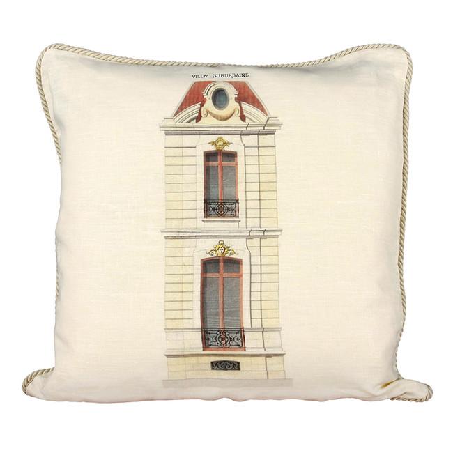 Villa Suburbaine Ox Bow Pillow