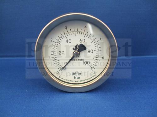 14522 Domino Pressure Guage