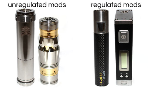 Unregulated Mods vs Regulated Mods