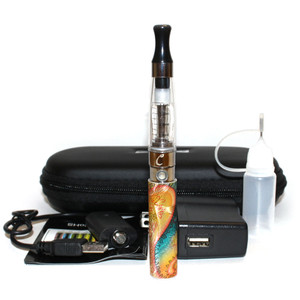 Yellow Floral Embossed eGo-Q 650mAh Starter Kit