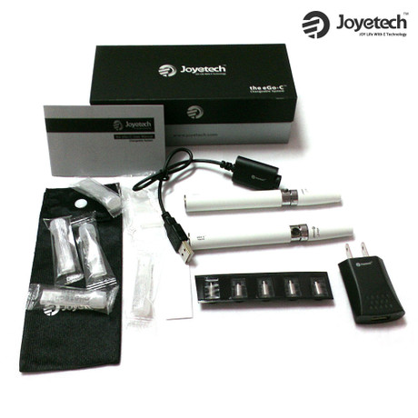 Joyetech eGo-C 1000mAh Changeable System Starter Kit - White
