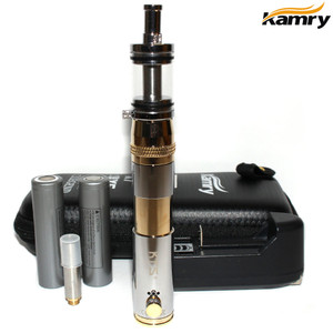Kamry KTS Telescopic Storm Mechanic Mod Starter Kit - Gold Chrome