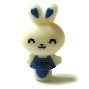 Love Bunny Silica Gel 510 Drip Tip - Blue