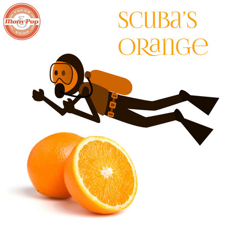 Mom and Pop Scuba Orange E-Liquid