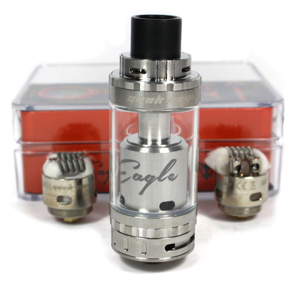 5c34255c GeekVape Eagle Top Airflow Sub Ohm Tank - Stainless Steel