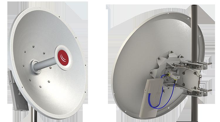 MikroTik 30dBi 5GHz Dual Pol Dish, Precision Alignment, MTAD-5G-30D3-PA