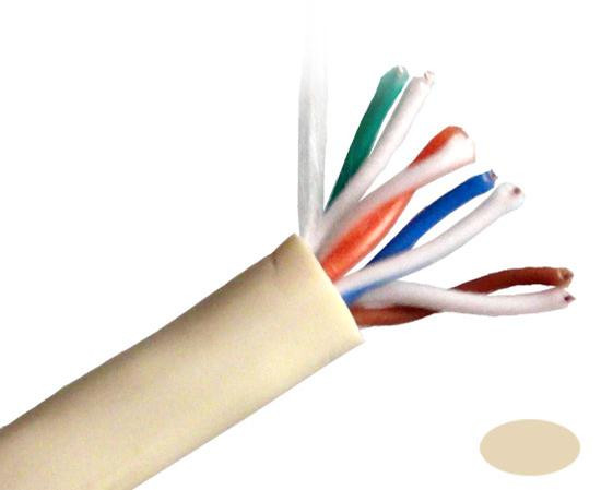 Primus Cable CAT5E Outdoor, UV, 1000ft,  Beige, C5CMX-2899BG