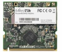 MikroTik 802.11a/b/g/n miniPCI card, R52Hn