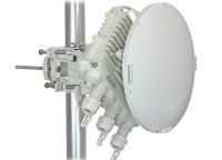 Siklu EtherHaul-1200T ODU w/ 1' antenna, 2 x Copper, 2 x Fiber, EH-1200T-ODU-1FT