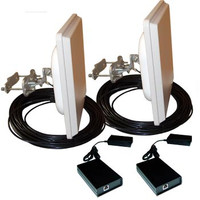 Airaya 5 Ghz Outdoor Bridge Kit, Integrated, 50ft CAT5, WG-300-0-050