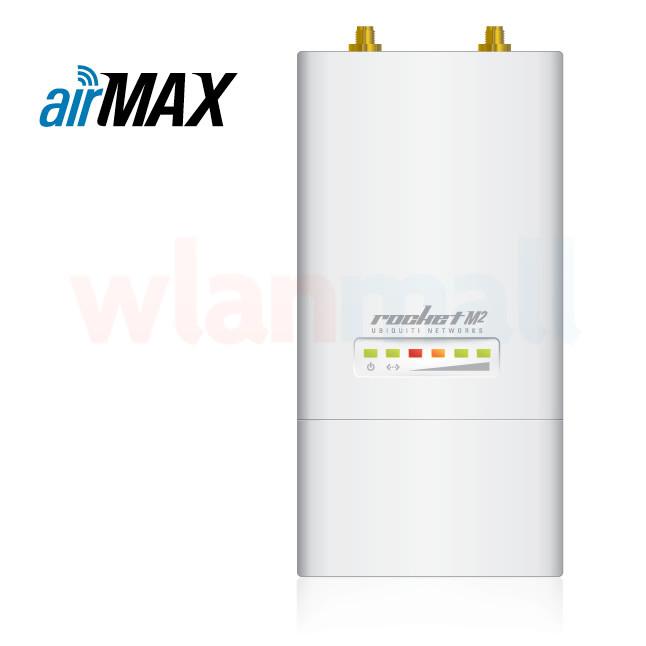 Ubiquiti ROCKETM900 900 MHz Hi Power 2x2 MIMO AirMax TDMA BaseStation
