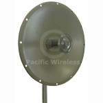 Laird 2' 29 dBi 4.9-5.8GHz Dish Antenna, HDDA5W-29-SP
