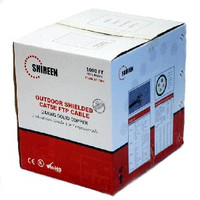Shireen CAT5E Outdoor, Shielded, 1000 ft, CAT5e-SHIELDED