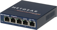 Netgear Prosafe 5 Port 10/100/1000 Unmanaged Gigabit Desktop Switch, GS105NA