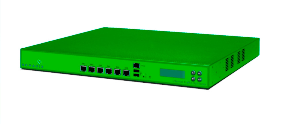 Nomadix NITO 1500 Platform, up to 4000 device users, 1st year warranty, license and support, 910-1500-400