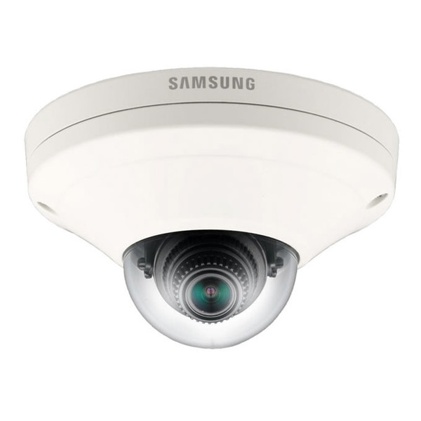Samsung wide angle mini dome security camera with WiseNet III, SNV-6013