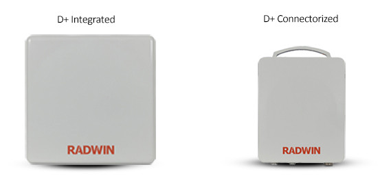 Radwin 2000D-Plus, 750 Mbps Wireless Bridge 5.8GHz Band, All Models, RW-2050-D100, RW-2050-D200