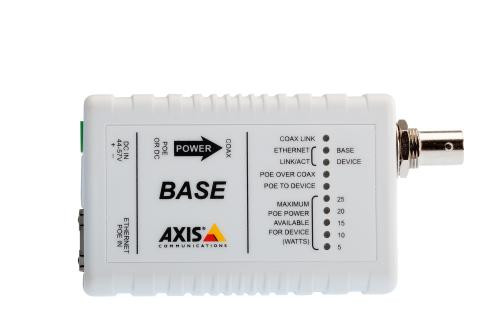 Axis T8642 PoE+ Over Coax Device Adapter, 5027-421 - WLANMall