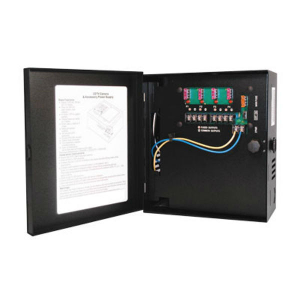 Samsung Power Supply, 12 VDC, 4 Output, 5 Amps, PWR-12DC-4-5