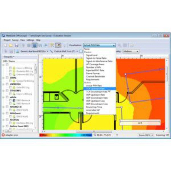 Metageek TamoGraph Pro Site Survey, SFW-TamoGraph