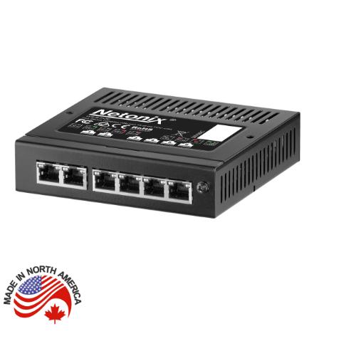 Netonix 6 Port Wisp Switch, WS-6-MINI