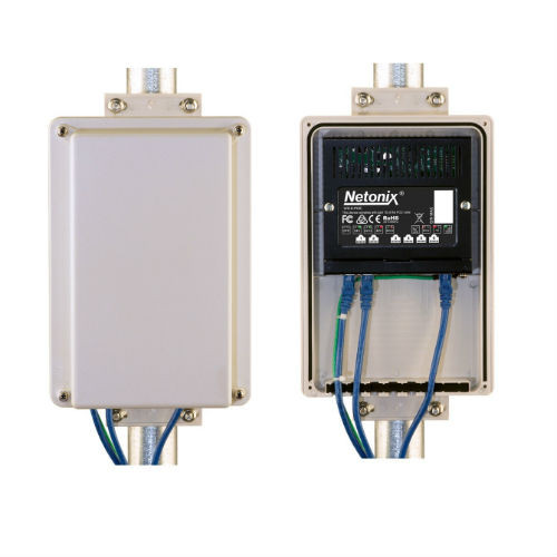 Netonix POE Switch Outdoor Enclosure, ENC-SW-8X5